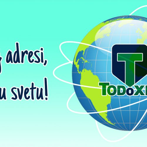 Todoxin na vašoj adresi, bilo gde u svetu!